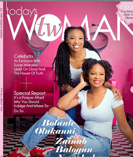 Bolanle Olukanni & Zainab Balogun Talk About Running A Business As Friends As They Cover TW Magazine's Latest Edition