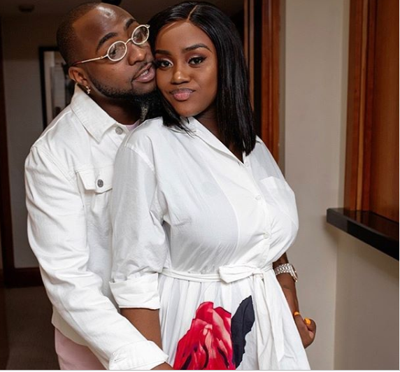 Chioma Celebrates Davido On His 27th Birthday With Cute Loved-Up Photos