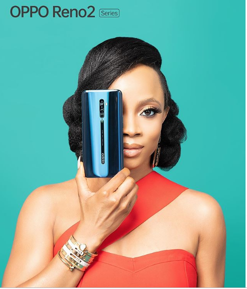 35 Looking Good For Toke Makinwa As She Signs Endorsement Deal With OPPO Mobile