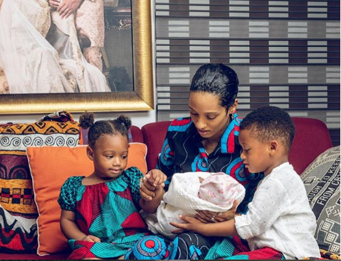 Singer, Di'ja Announces The Birth Of Her Third Child In The Most Beautiful Way