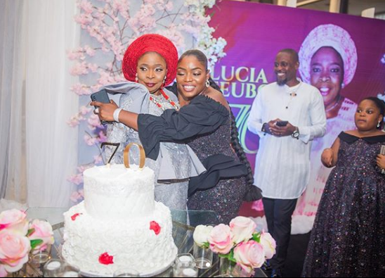 Bisola Aiyeola Celebrates Mother As She Turns 70 Years