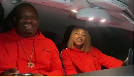 This Video Of Don Jazzy Having A Karaoke Session With Tacha Is Trending For All the Right Reasons