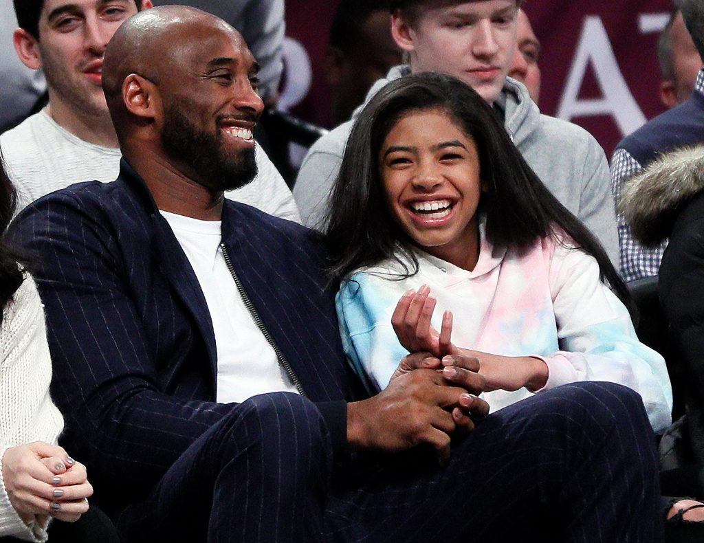 Shock As Kobe Bryant's 13 Year-Old Daughter Also Dies In Helicopter Crash