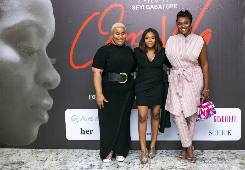 Mo Abudu, Waje, Osas, Chigurl, Others Attend Private Screening of Dolapo Oni's Short Play 'Omowa' In Lagos