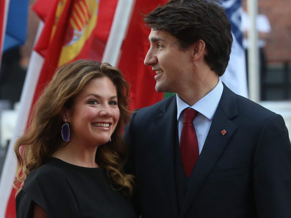 Wife Of Canadian Prime Minister, Sophie Trudeau Recovers From Coronavirus