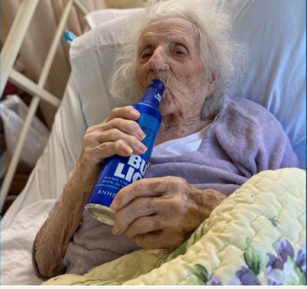 This 103-Year-Old Woman Celebrated Her Recovery From Coronavirus In The Most Unusual Way
