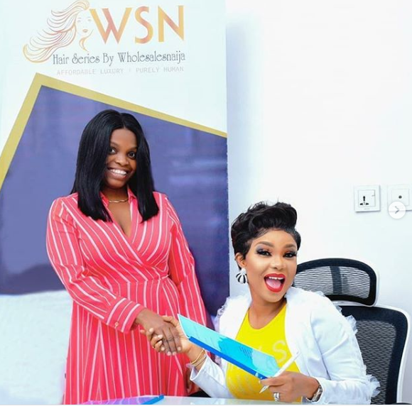 Actress, Iyabo Ojo Becomes Brand Ambassador For Top Hair Brand, Wholesales Naija