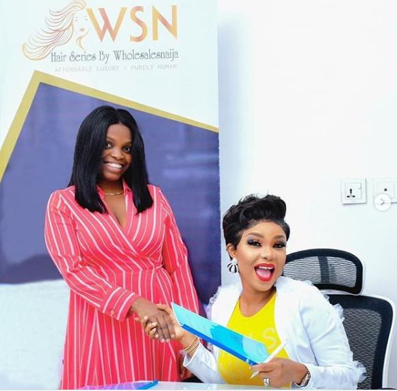 Actress, Iyabo Ojo Becomes Brand Ambassador For Top Hair Brand, Wholesales Naija