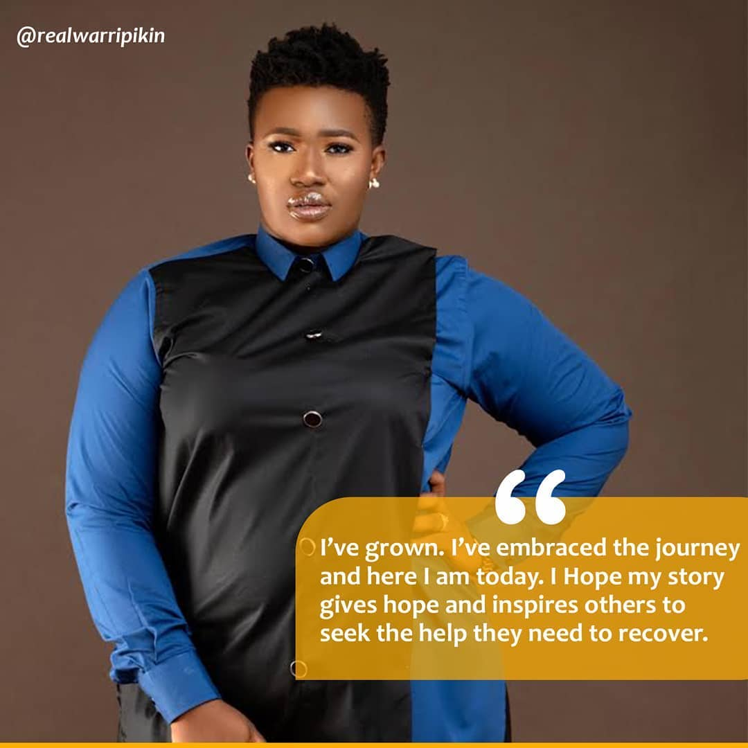 Comedienne RealWarriPikin Goes Down Memory Lane On Her Recovery From Depression & Attempted Suicide