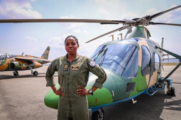 9 Things You Didn't Know About Late Tolulope Arotile, Nigeria's First Female Combat Helicopter Pilot