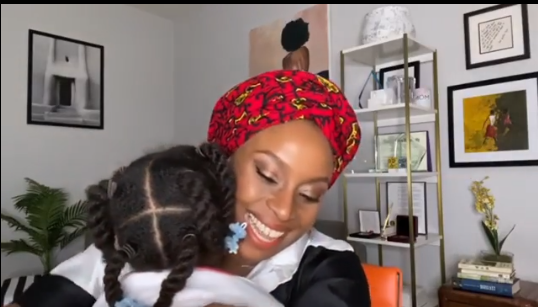 This Video Of Chimamanda Adichie Praising Her Daughter In Igbo Is Too Adorable For Words