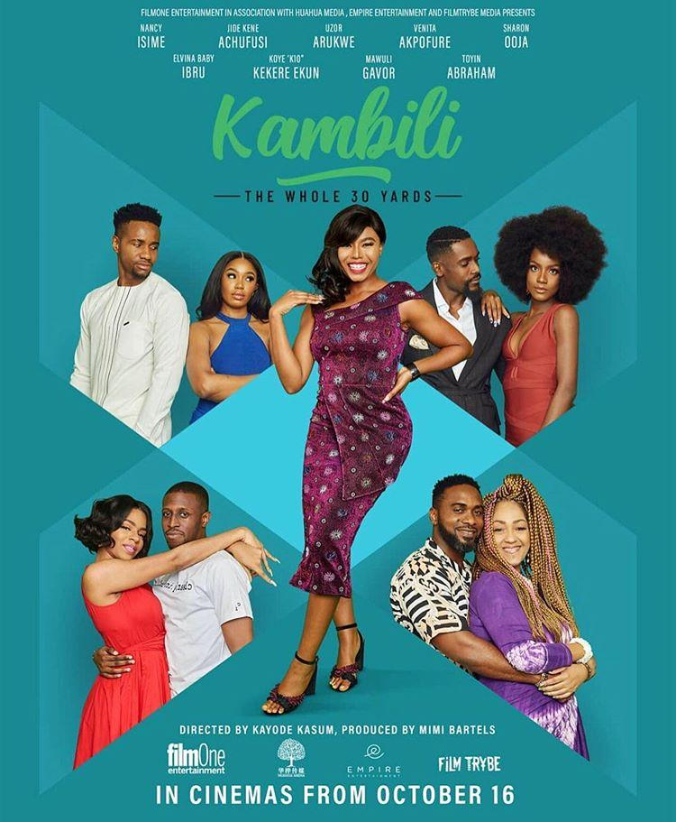 "Official Poster And Trailer For ""Kambili: The Whole 30 Yards"""