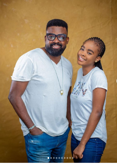 Meet Eyiyemi, The Beautiful Daughter Of Movie Director, Kunle Afolayan As She Turns 15