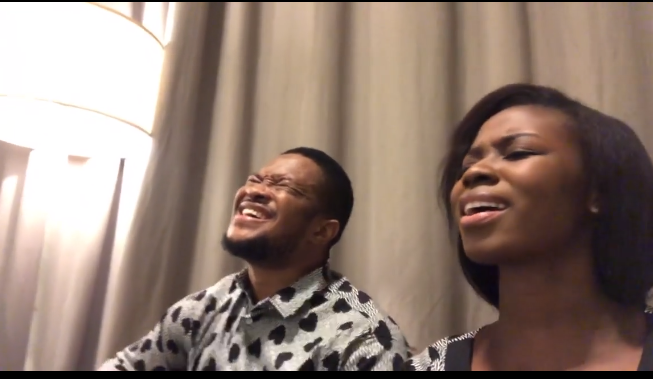 Mike Bamiloye's Daughter And Husband Sing For Nigeria darasimi and husband sing for nigeria
