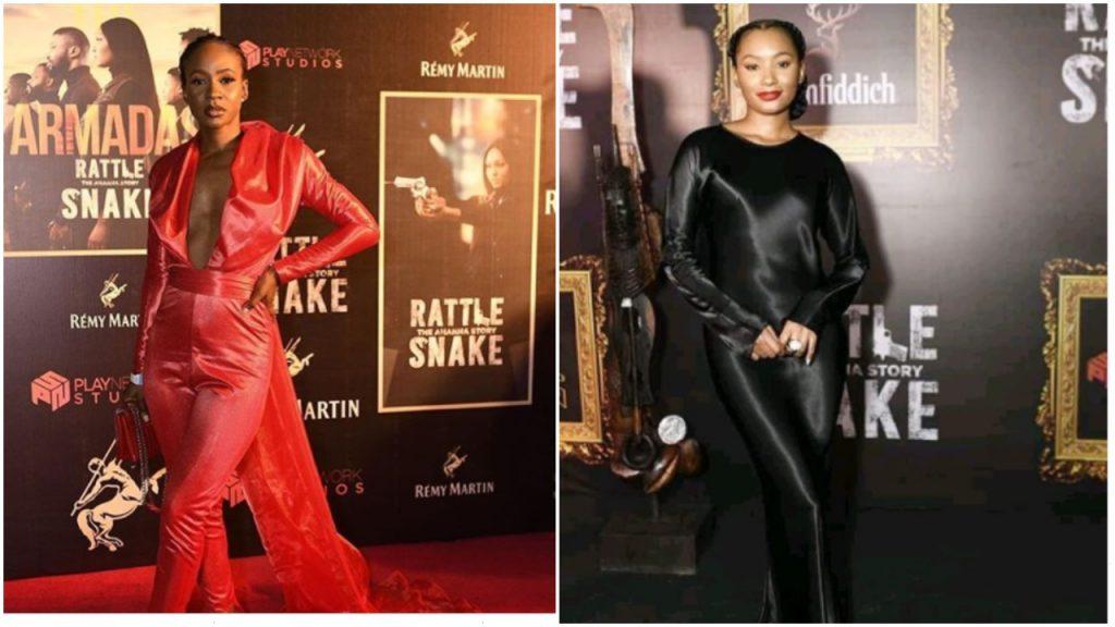 Feminine Celebrities At The Premiere female celebrities rattlesnake premiere 1024x576