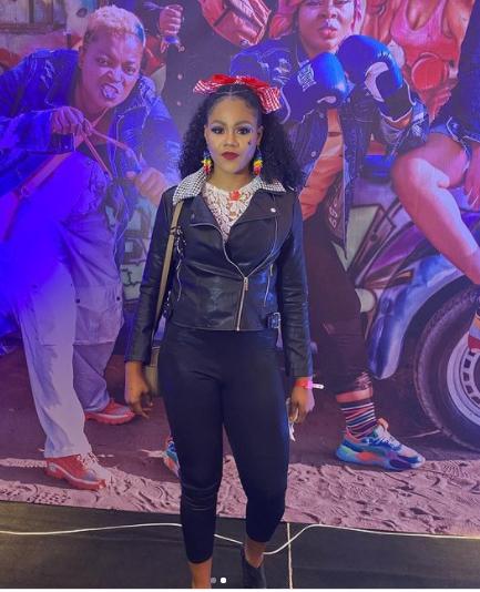 Feminine Celebrities At The Omo Ghetto Premiere | Images busola omo ghetto premiere