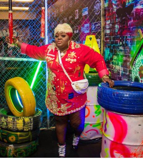 Feminine Celebrities At The Omo Ghetto Premiere | Images eniola badmus omo ghetto