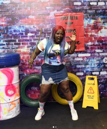 Feminine Celebrities At The Omo Ghetto Premiere | Images lolo omo ghetto