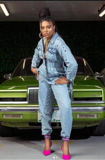 Feminine Celebrities At The Omo Ghetto Premiere | Images stephanie coker omo ghetto