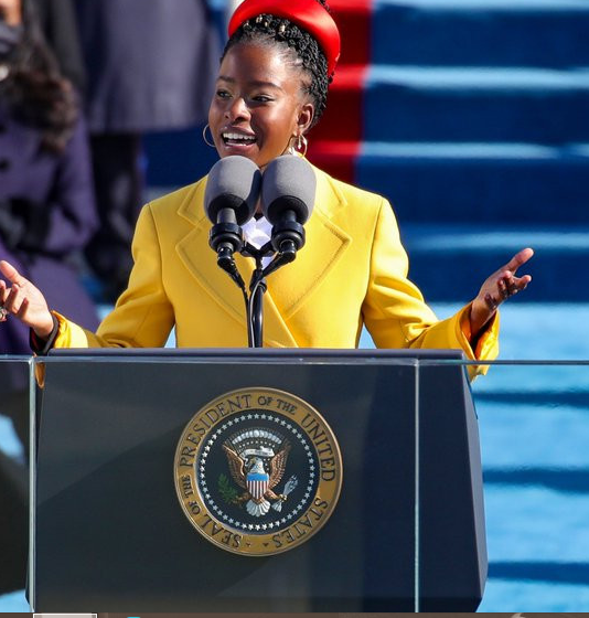 Amanda Gorman Makes Historical past At US Inauguration 22 year old becomes youngest poet us inauguration