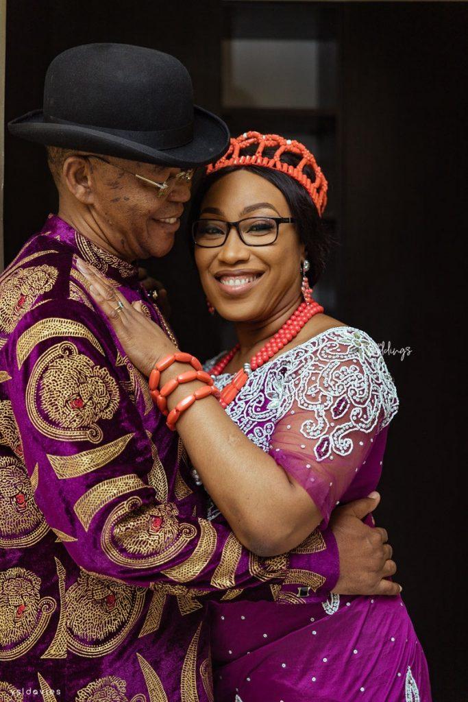 Divorcee Bose Daramola Weds Widower Patrick Okoh Bose Patrick Weddings