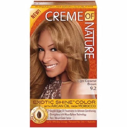 Finest Hair Dyes For Pure Hair Opinions & Costs In Nigeria Exotic Shine Color Light Caramel Brown 9 2 5055059 3