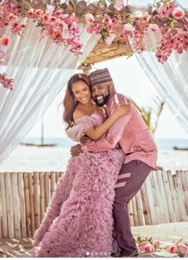 Actress, Adesua Etomi Declares Start Of First Baby With Lovely Child Bump Images adesua etomi welcomes first child 3
