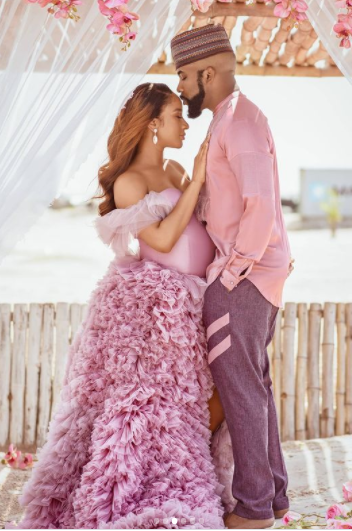 Actress, Adesua Etomi Declares Start Of First Baby With Lovely Child Bump Images adesua etomi welcomes first child