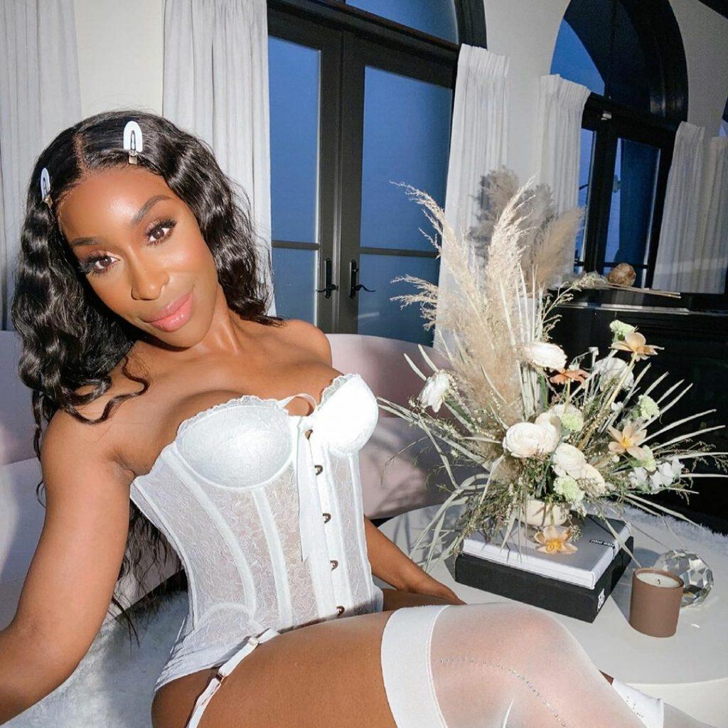 Rihanna's Savage X Fenty Makes Jackie Aina The Face Of Its First-Ever Bridal Assortment jackie aina x savage fenty