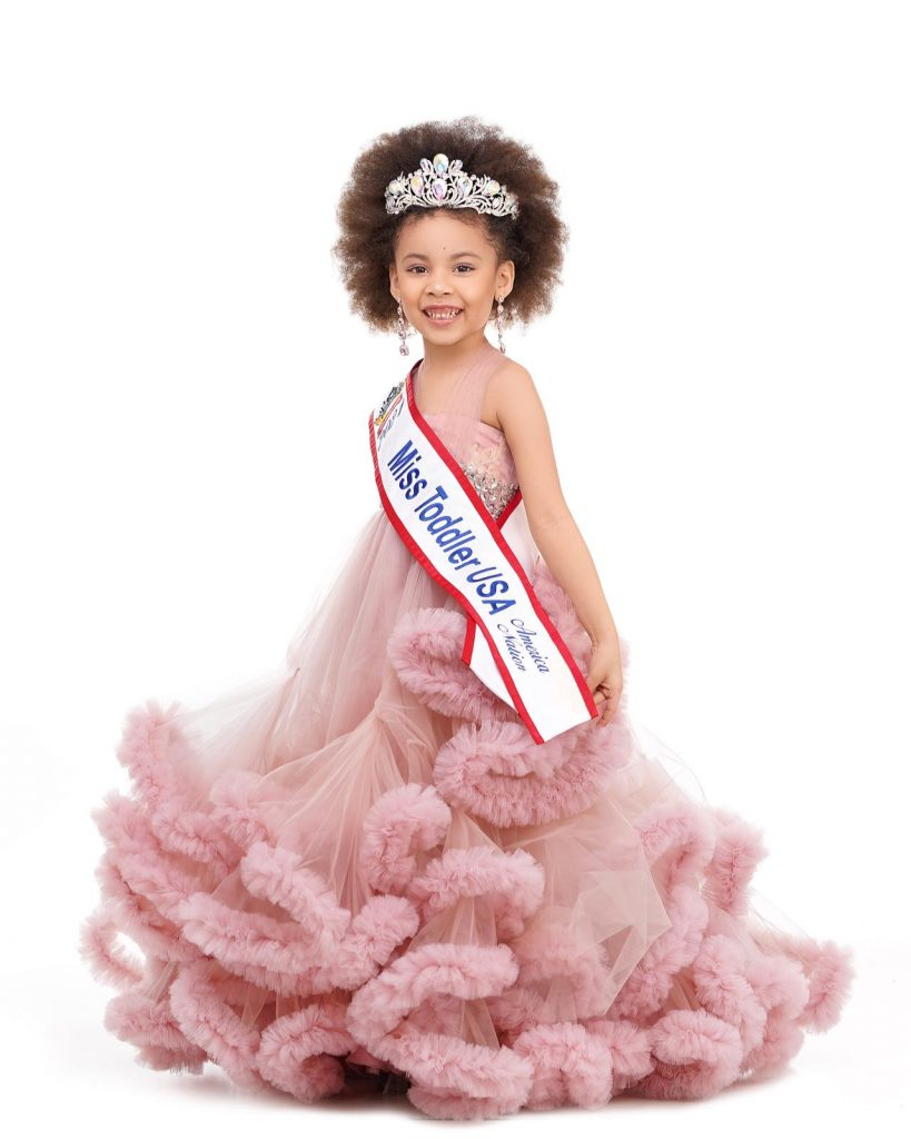 5-12 months-Nigerian-Mexican Woman, Kleopatra Vargas Wins Miss Toddler USA America Nation 2021 miss toddler 2021 2 819x1024