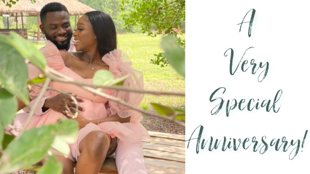 Tomike Adeoye And Hubby Have fun Second Tradiversary With The Finest Information Ever tomike adeoye and hubby expecting first child 1024x576