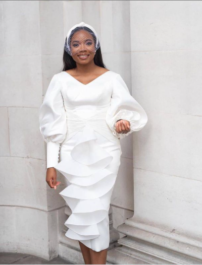 13 White Outfit Concepts To Encourage Your Court docket Marriage ceremony Look white court wedding outfit ideas 4