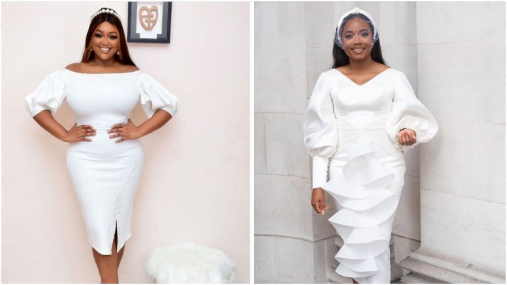 13 White Outfit Concepts To Encourage Your Court docket Marriage ceremony Look white court wedding outfit ideas nigeria 2021 1024x576
