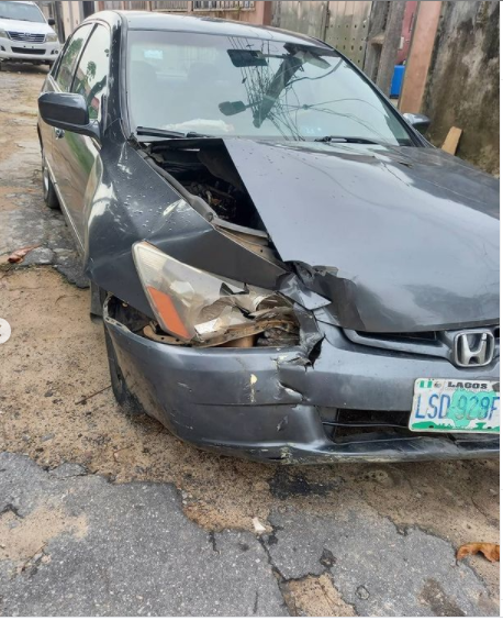 'Nothing Damaged, Nothing Lacking' – OAP Lolo Is Grateful As She & Youngsters Survive Ghastly Accident 'Nothing Damaged, Nothing Lacking' – OAP Lolo Is Grateful As She & Youngsters Survive Ghastly Accident lolo escapes accident 1